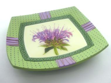beebalm plate 3-4 view