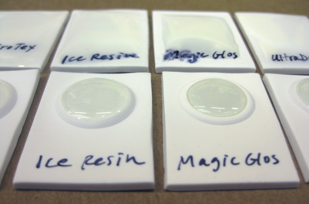 close up Ice Resin - Magic Glos