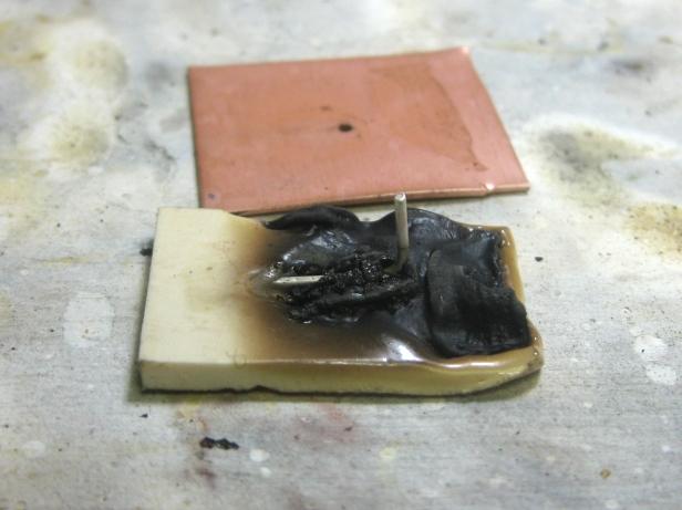 1C - 5 burnt polymer w silver