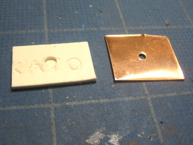 2A - 1 polymer rivet prep