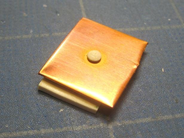 2A - 2 polymer rivet baked